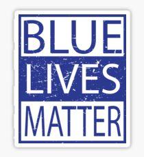 Blue Lives Matter Movement Police, Cops Respect Sticker