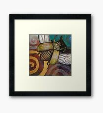 The Gold Bug Framed Print