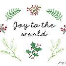 Joy to the World by Nicky Johnston