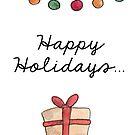 Happy Holidays by Nicky Johnston