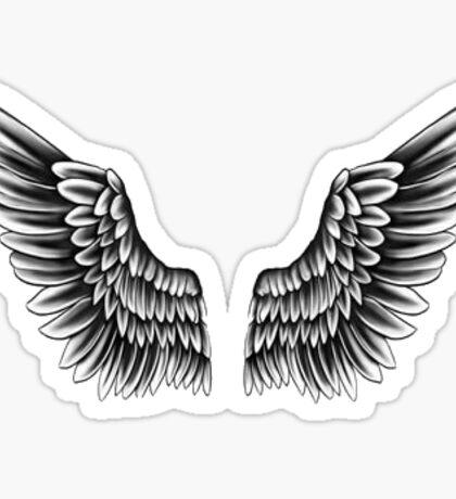 Justin Bieber Wings Tattoo Sticker