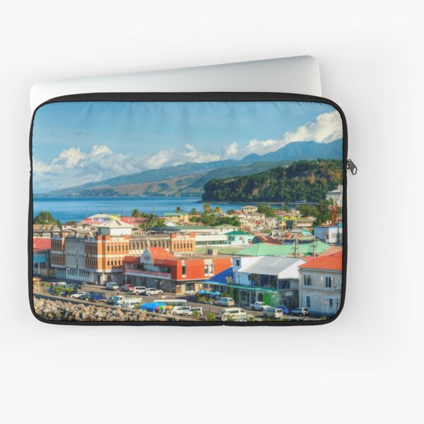A View of Roseau Laptop Sleeve