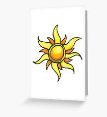 Tangled Up in the Sun Greeting Card