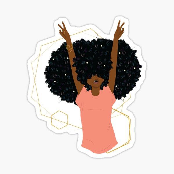 Hair Goals Sticker
