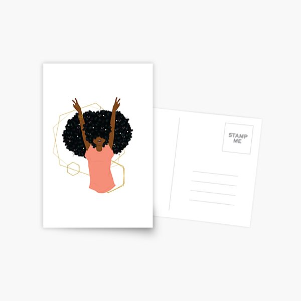 Hair Goals Postcard