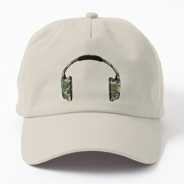 Headphones (Camouflage) Dad Hat