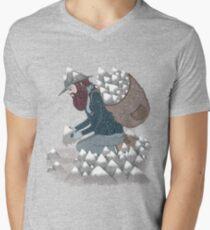 Mountain Man Mens V-Neck T-Shirt