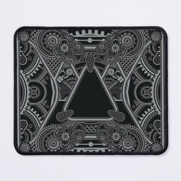Mecha Card - Perfect Symmetry Mouse Pad