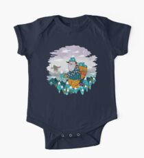 Mountain Guy and Owl Friend Kids Clothes
