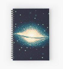 Cuaderno de espiral 8bit Galaxy: M104
