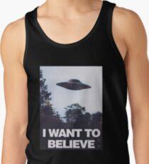 The X-Files I Want To Believe Tank Top