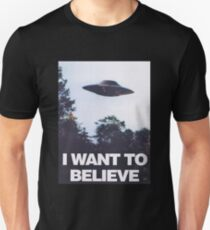 The X-Files I Want To Believe Slim Fit T-Shirt