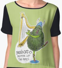 Bravocado, Master of the Arts Chiffon Top