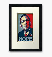 Obama Hope Framed Print