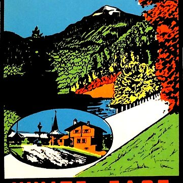 Whiteface Mountain Vintage Travel Decal de hilda74