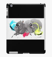 CMYK Ink Brush Fox iPad Case/Skin
