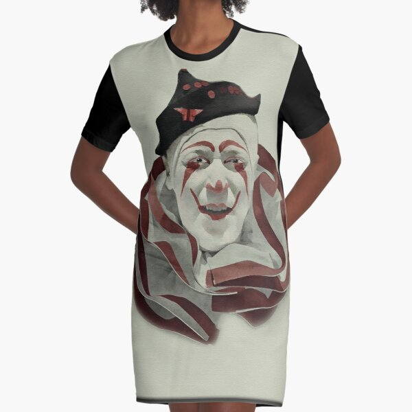 The Clown Graphic T-Shirt Dress