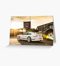 GT3RS 4.0 Greeting Card