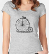 Penny Farthing Women's Fitted Scoop T-Shirt