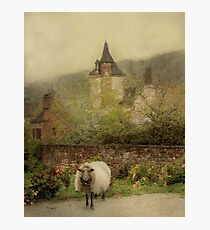 The Old Village Photographic Print
