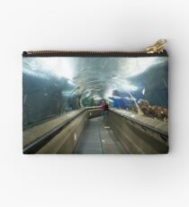 The travelator at the Underwater world in Sentosa in Singapore Studio Pouch