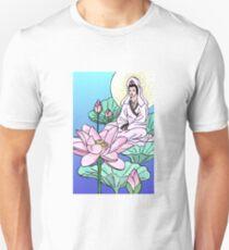 Kuan Yin in the Lotus Unisex T-Shirt
