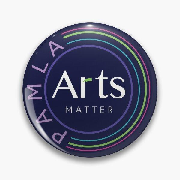 PAMLA Arts Matter Pin