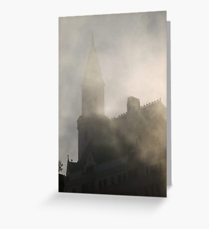Gothic fog Greeting Card
