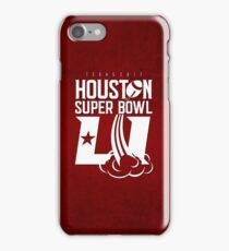 Super Bowl LI 2017 rocket ball iPhone Case/Skin