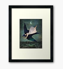 fly me to paris Framed Print