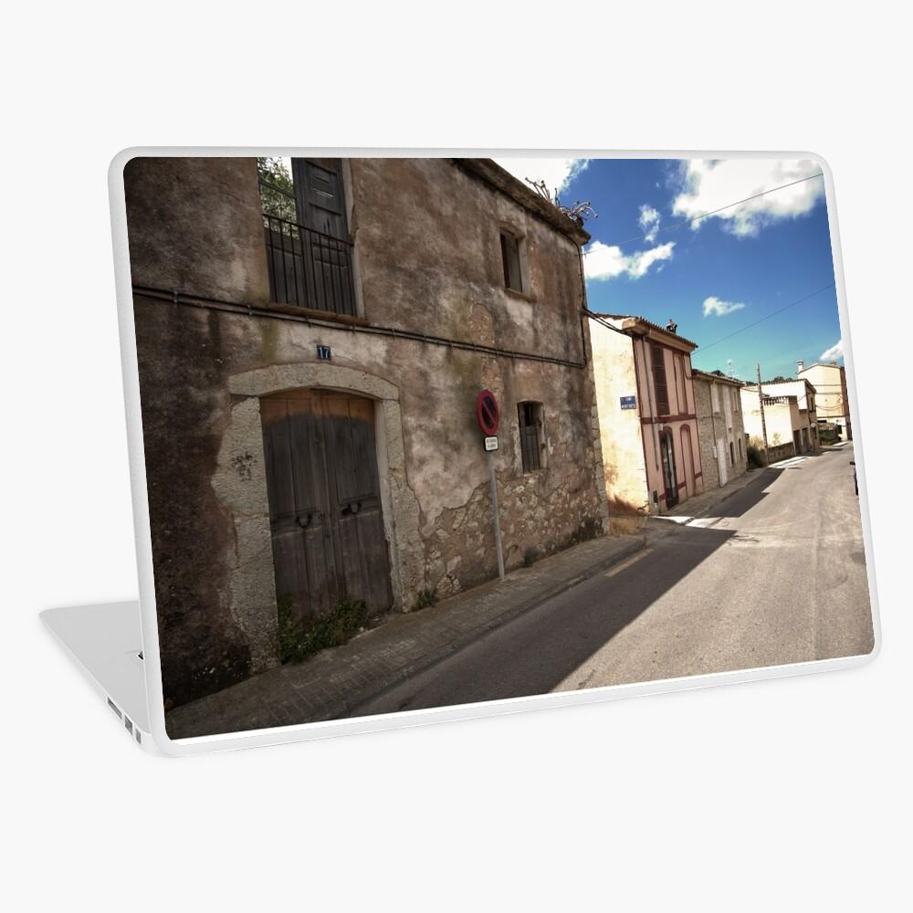 High Street of S'Arracó Laptop Skin