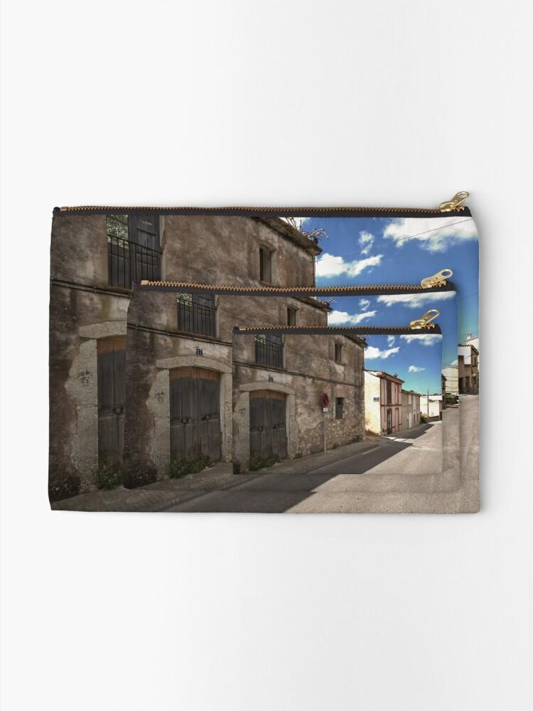 Alternate view of High Street of S'Arracó Zipper Pouch