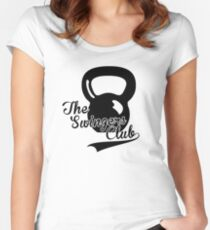Kettlebell Swingers Club Women's Fitted Scoop T-Shirt