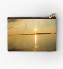 Rick Lake Ontario Sunset Studio Pouch