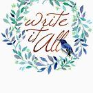 Write It All!  by Neli Dimitrova