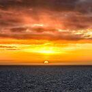 Arafura Sea Sunset by Tony Steinberg