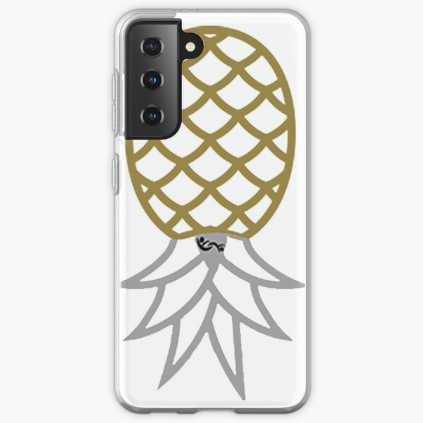 Upside Down Pineapple Swinger Symbol with Partners ID Swinger Logo Samsung Galaxy Soft Case