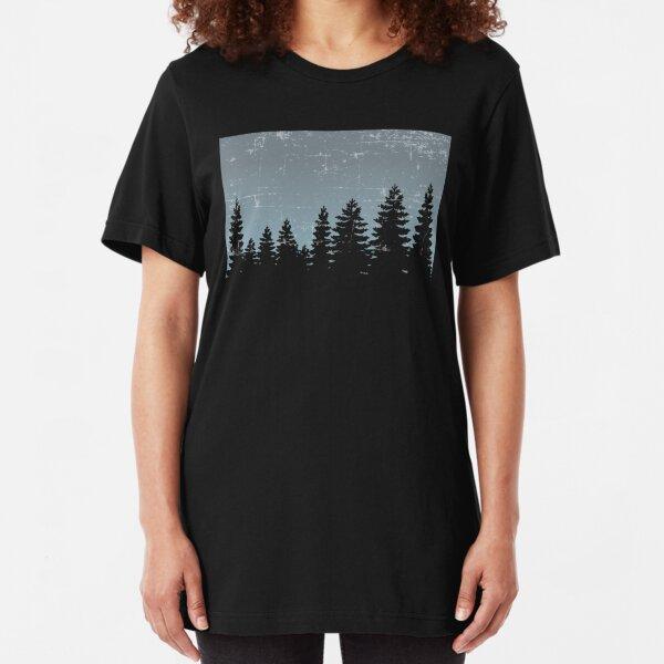 Nature tree Slim Fit T-Shirt