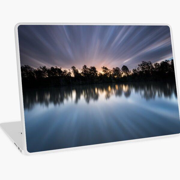 """Warp 10"" ∞ Brisbane River, QLD - Australia Laptop Skin"