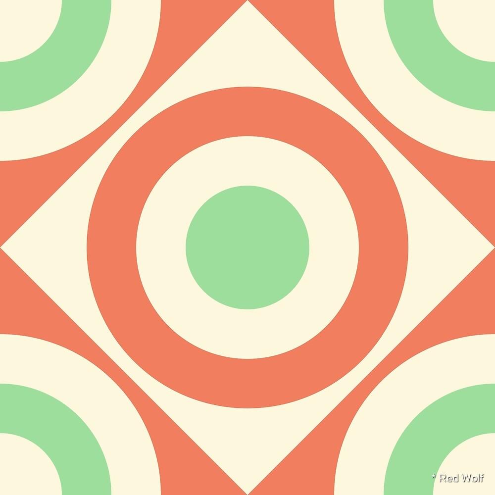 Geometric Pattern: Rondel Diamond: Hub by * Red Wolf