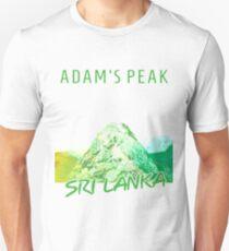 Sri Lanka - Adam's Peak Unisex T-Shirt