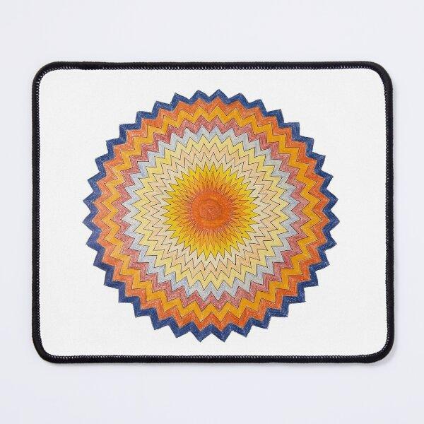 Hand painted Mandala Art - Inner Calmness Mouse Pad