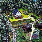 summer on the farm by LoreLeft27