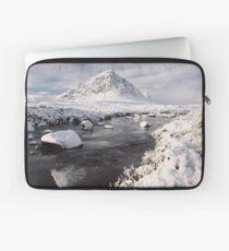 Glencoe winter landscape Laptop Sleeve