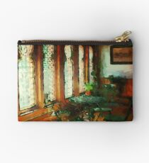 Afternoon at Café des Vignes Studio Pouch