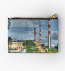 Power Plant at Clifton Pier in Nassau, The Bahamas Studio Pouch