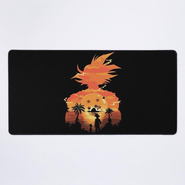 Dragon Ball Super Saiyan Warrior Son Goku Kakarot Sunset Hero Desk Mat