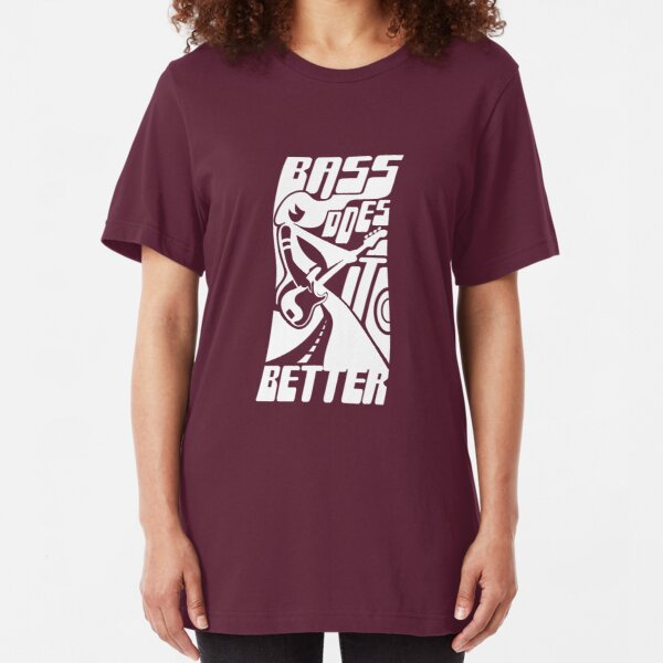 Bass Does it Better Slim Fit T-Shirt
