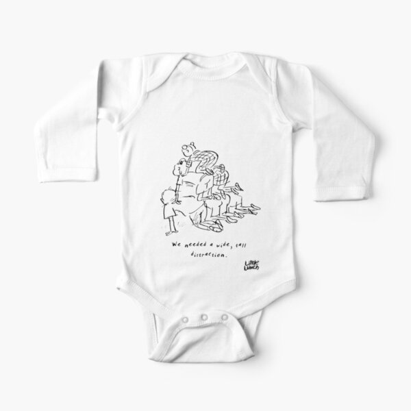 Little Lunch: The Milk Bar Long Sleeve Baby One-Piece