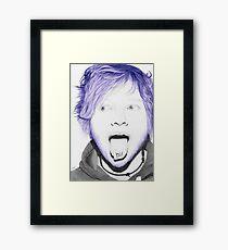 Ed says hi Framed Print